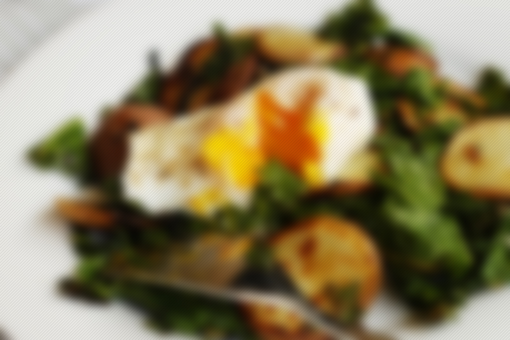 Kale – Potatoes – Eggs
