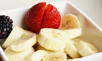 Bananas and Strawberry